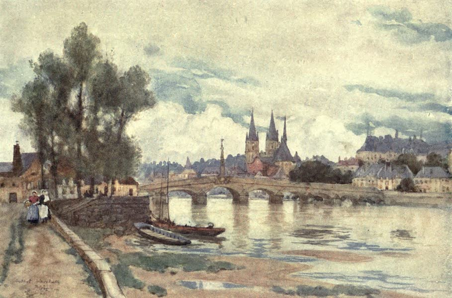 Cathedral Cities of France - Blois (1907)