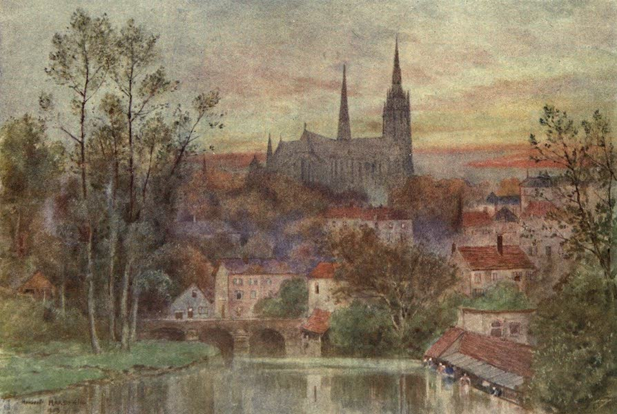 Cathedral Cities of France - Chartres (1907)