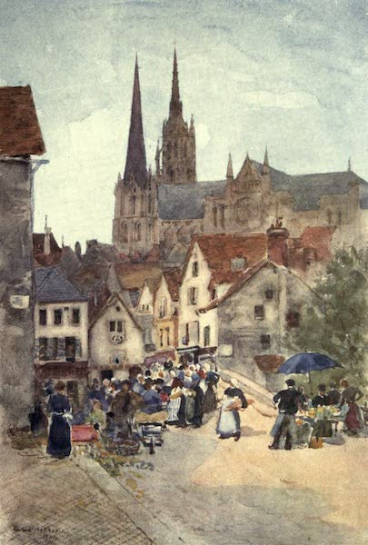 Cathedral Cities of France - Rue de la Porte Guillaume, Chartres (1907)