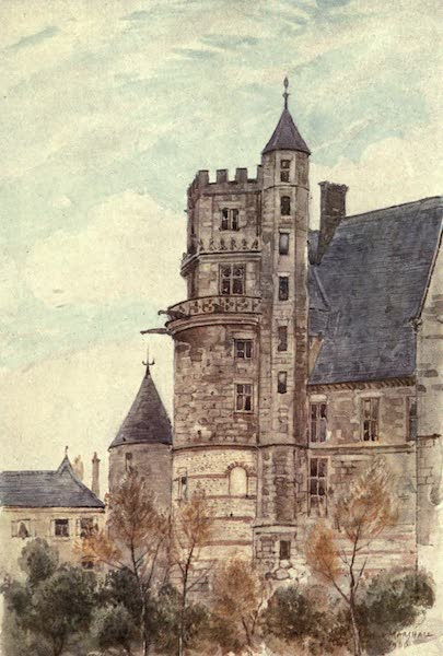 Cathedral Cities of France - The House of Jacques Cœur, Bourges (1907)