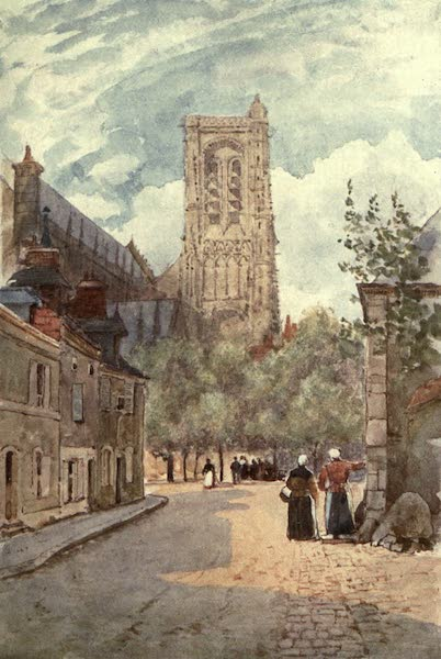 Cathedral Cities of France - Bourges (1907)