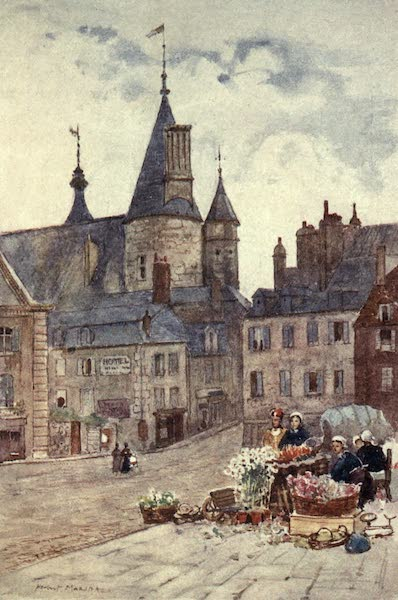 Cathedral Cities of France - The Hôtel-de-Ville, Nevers (1907)