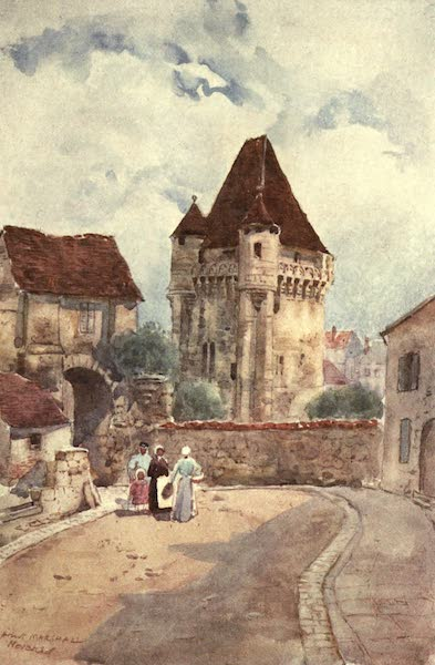 Cathedral Cities of France - The Port du Croux, Nevers (1907)