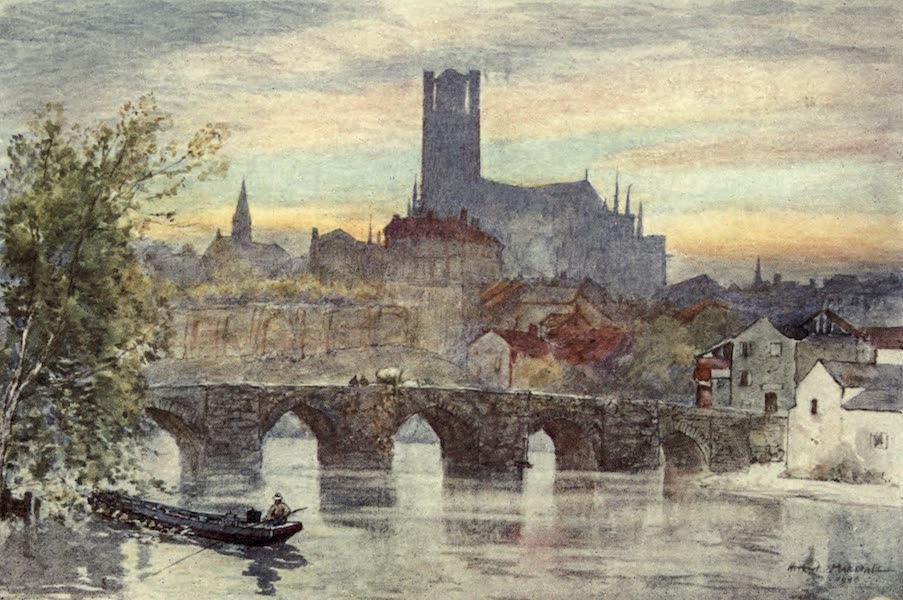 Cathedral Cities of France - Limoges (1907)