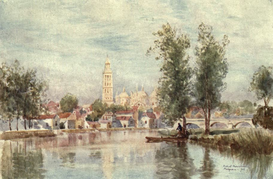 Cathedral Cities of France - Perigueux from the River (1907)