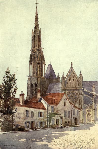 Cathedral Cities of France - Senlis (1907)