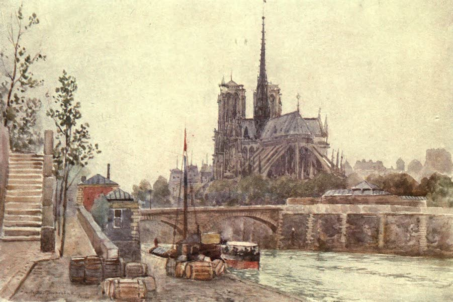 Cathedral Cities of France - Nôtre Dame, Paris (1907)
