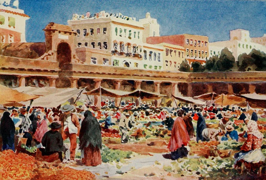 Cathedral Cities of Spain - Cadiz. The Market Place (1909)