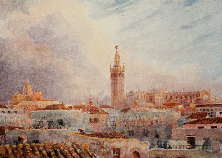 Cathedral Cities of Spain - Seville. In the Cathedral (1909)