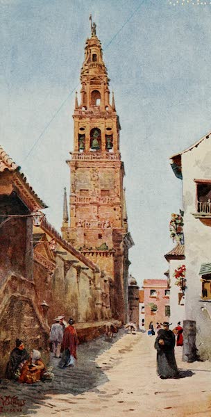 Cathedral Cities of Spain - Cordova. The Campanario Tower (1909)