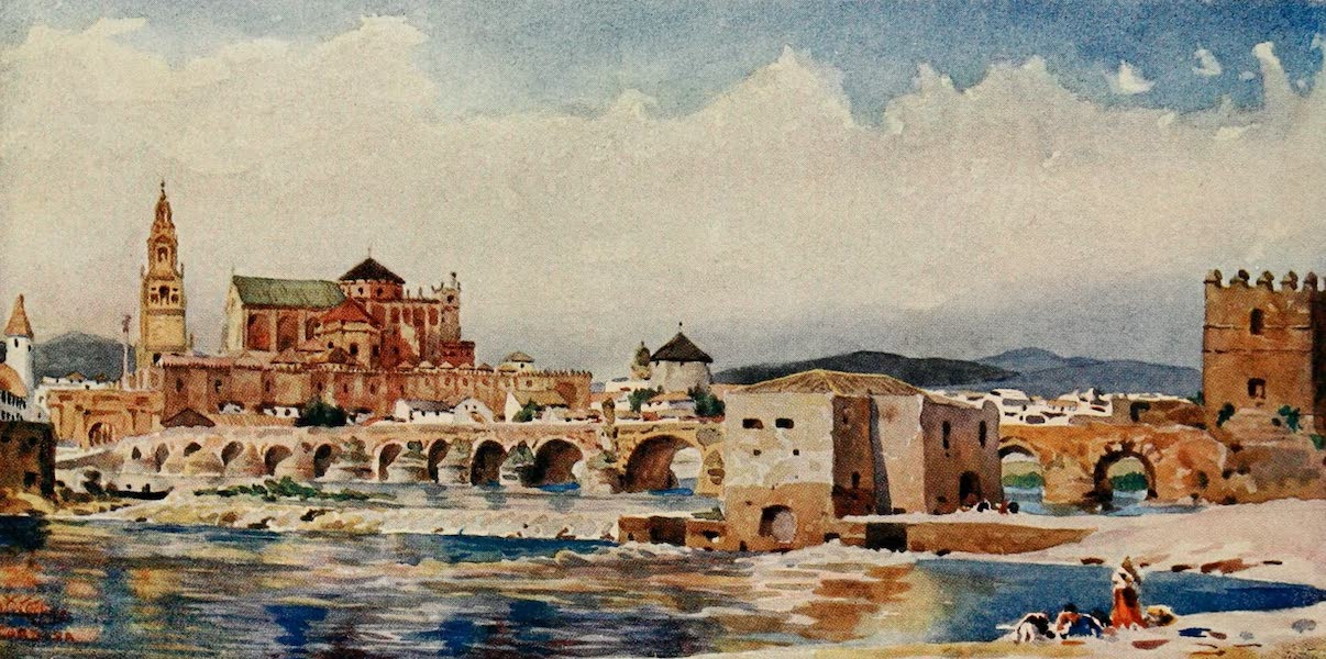Cathedral Cities of Spain - Cordova. The Bridge (1909)