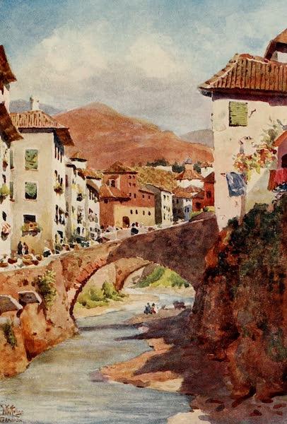 Cathedral Cities of Spain - Granada. Carrera de Darro (1909)