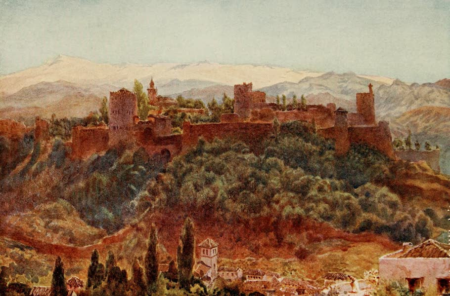 Cathedral Cities of Spain - Granada. The Alhambra (1909)