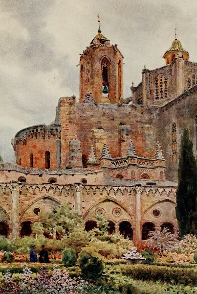 Cathedral Cities of Spain - Tarragona. The Cloisters (1909)