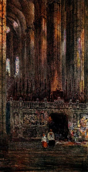 Cathedral Cities of Spain - Barcelona. In the Cathedral (1909)
