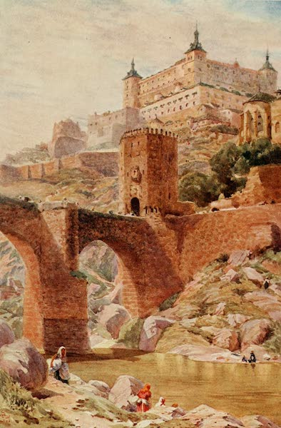 Cathedral Cities of Spain - Toledo. The Alcántara Bridge (1909)