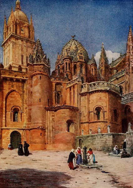 Cathedral Cities of Spain - Salamanca. The Old Cathedral (1909)