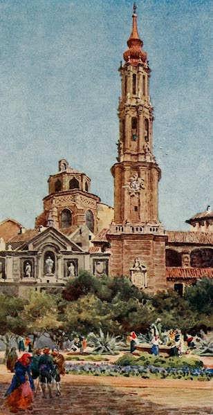 Cathedral Cities of Spain - Saragossa. La Seo (1909)