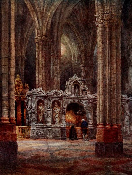 Cathedral Cities of Spain - Saragossa. In the Old Cathedral (1909)