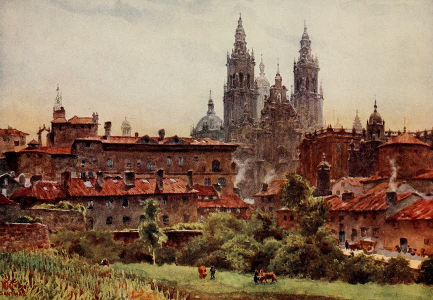 Cathedral Cities of Spain - Santiago. The Cathedral (1909)
