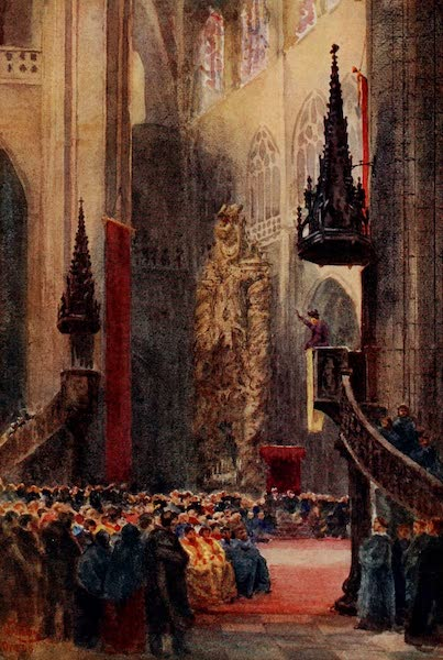 Cathedral Cities of Spain - Oviedo. In the Cathedral (1909)