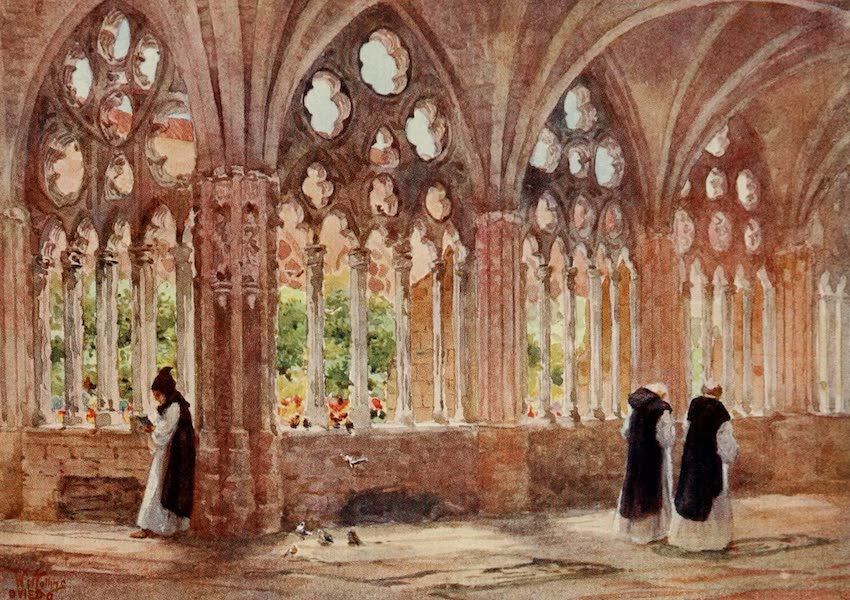 Cathedral Cities of Spain - Oviedo. The Cloisters (1909)