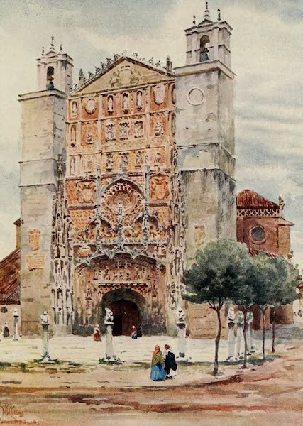 Cathedral Cities of Spain - Valladolid. San Pablo (1909)