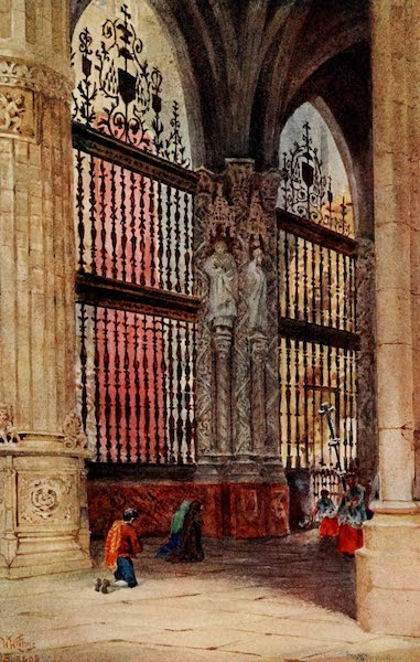 Cathedral Cities of Spain - Burgos. The Capilla Mayor (1909)