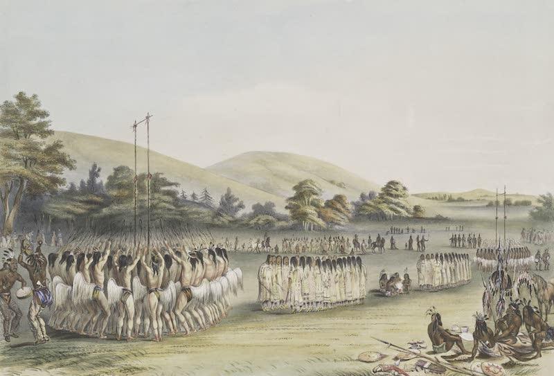 Catlin's Indian Portfolio - Ball Play Dance (1844)