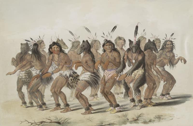 Catlin's Indian Portfolio - Bear Dance (1844)
