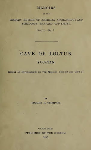 English - Cave of Loltun, Yucatan