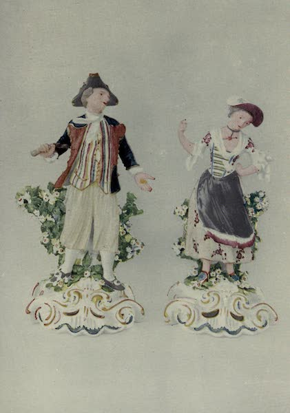Chelsea and Chelsea-Derby China - Statuettes of Sailor and Girl (1909)