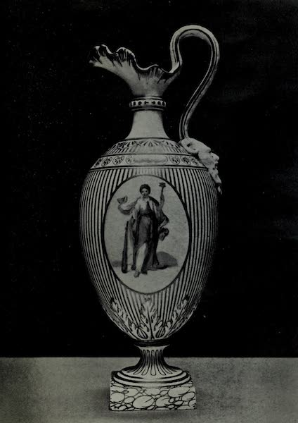 Chelsea and Chelsea-Derby China - Chelsea-Derby Ewer (1909)
