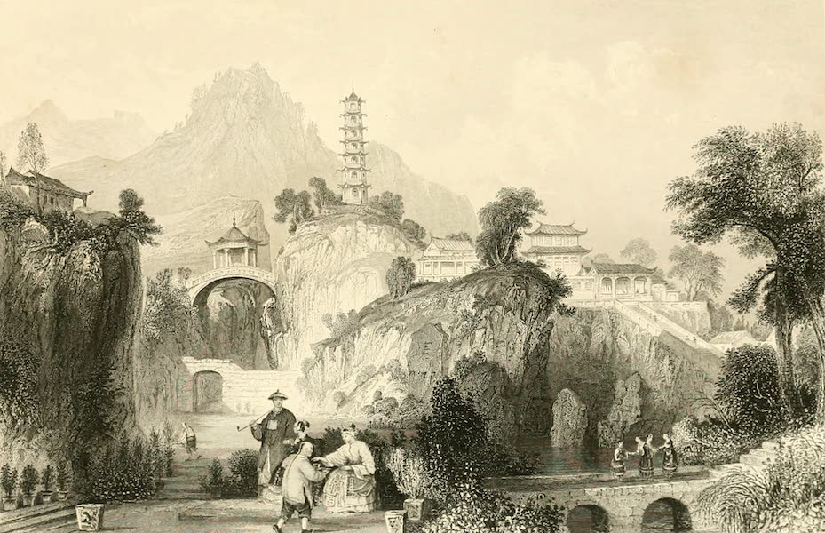 China in a Series of Views Vol. 1 - The Imperial Travelling Palace at the Hoo-Kew-Shan (1843)