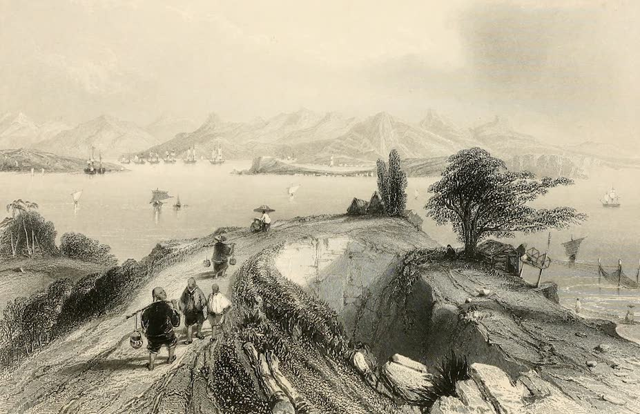 China in a Series of Views Vol. 1 - Harbour of Hong-Kong (1843)