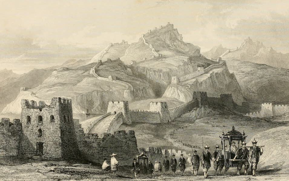 China in a Series of Views Vol. 1 - The Great Wall of China (1843)