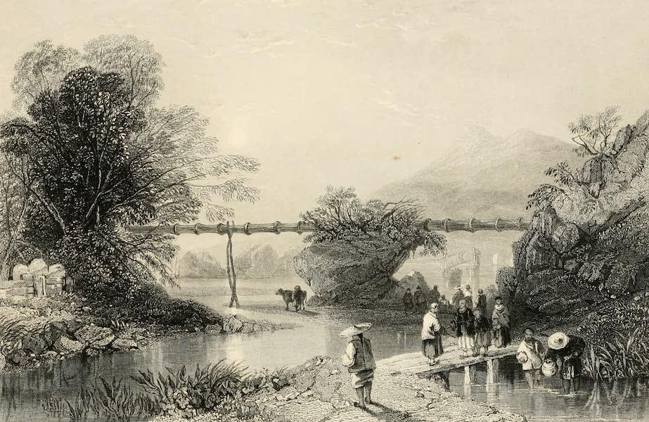 China in a Series of Views Vol. 1 - Bamboo Aqueduct at Hong-Kong (1843)