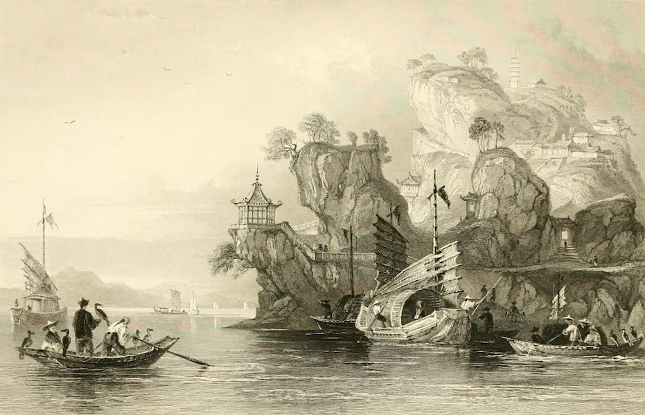 China in a Series of Views Vol. 1 - Imperial Palace at Tseaou-Shan (1843)