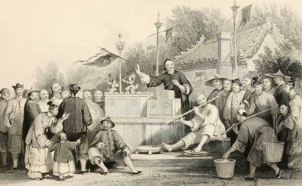 China in a Series of Views Vol. 1 - Raree Show at Lin-Sin-Choo (1843)