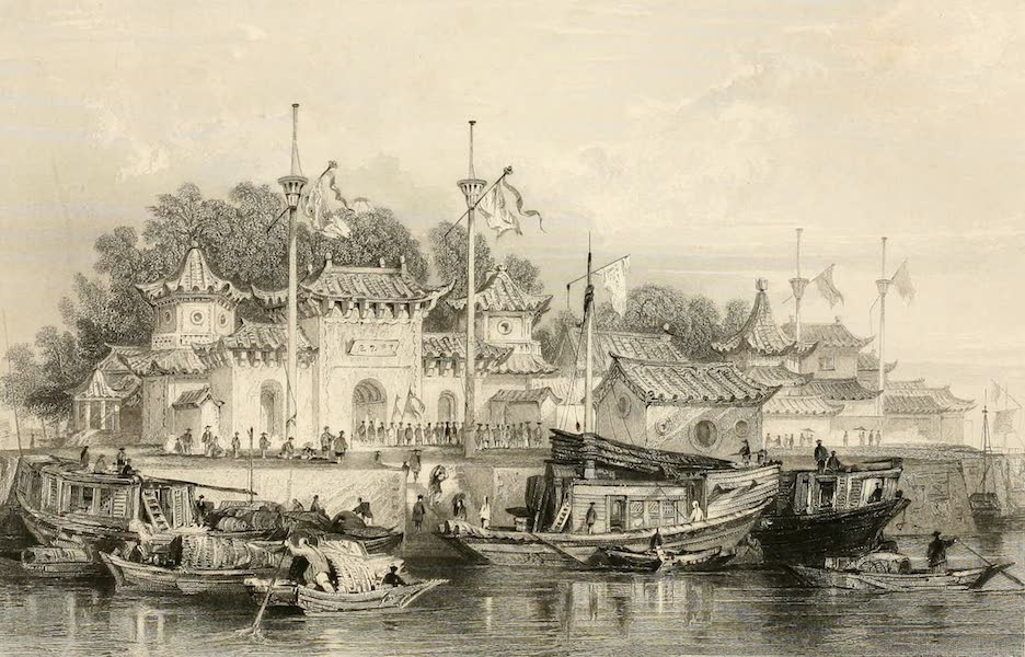 China in a Series of Views Vol. 1 - Military Station near the City of Chokian (1843)
