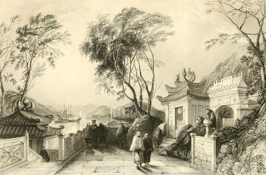 China in a Series of Views Vol. 1 - Chapel in the Great Temple, Macao (1843)