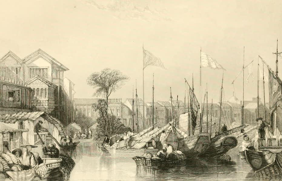 China in a Series of Views Vol. 1 - The European Factories, Canton (1843)