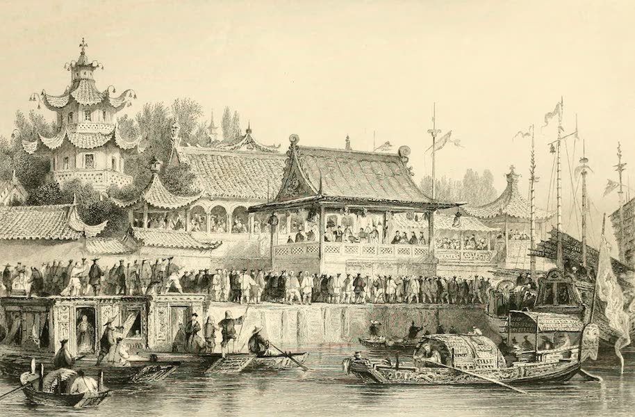 China in a Series of Views Vol. 1 - Theatre at Tien-Sin (1843)