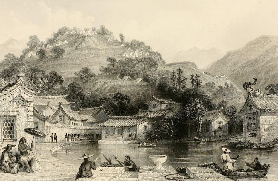 China in a Series of Views Vol. 1 - British Encampment on Irgao-Shan, Chusan (1843)