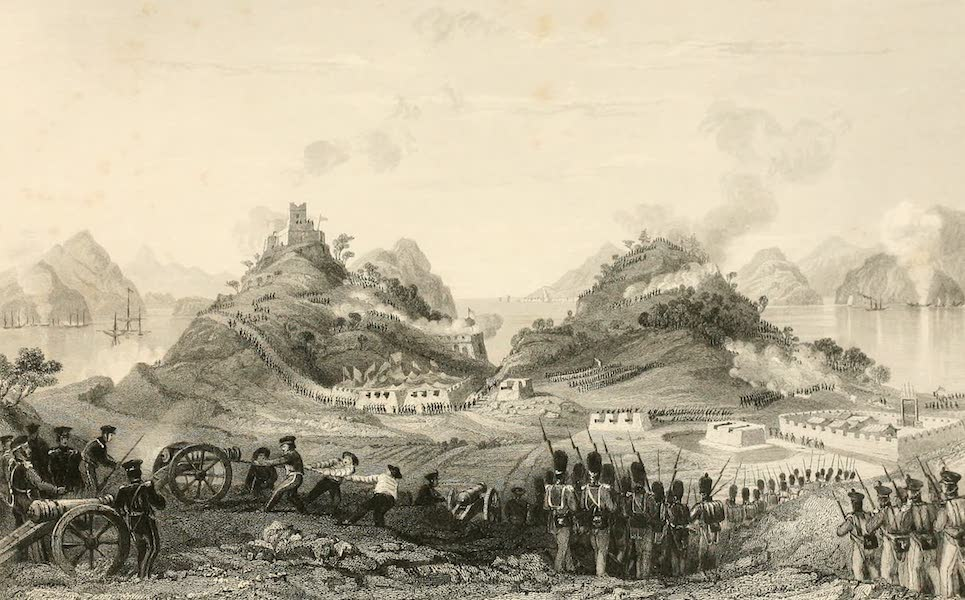 China in a Series of Views Vol. 2 - Attack and Capture of Chuen-pee (1843)