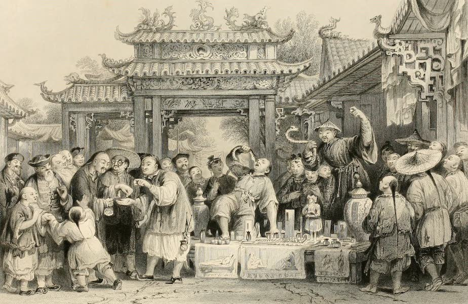 China in a Series of Views Vol. 2 - An Itinerant Doctor at Tien-sing (1843)