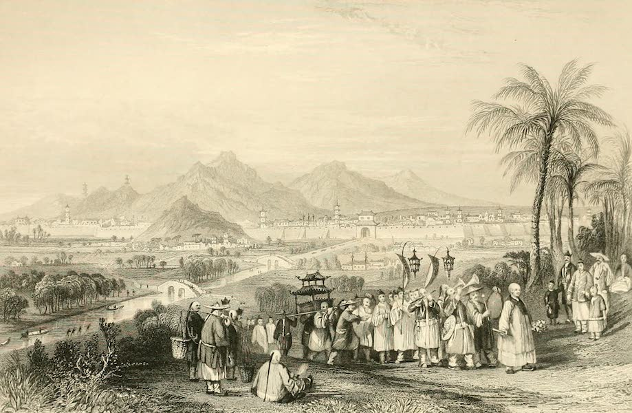 China in a Series of Views Vol. 2 - The City of Nanking (1843)