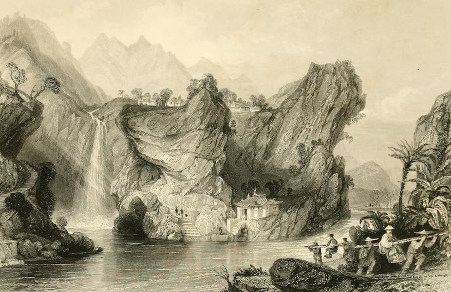 China in a Series of Views Vol. 2 - The Foochun Hill, in the Province of Che-keang (1843)