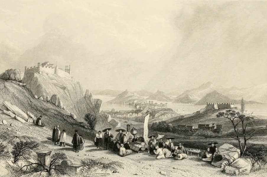 China in a Series of Views Vol. 2 - Macao, from the Forts of Heang-shan (1843)