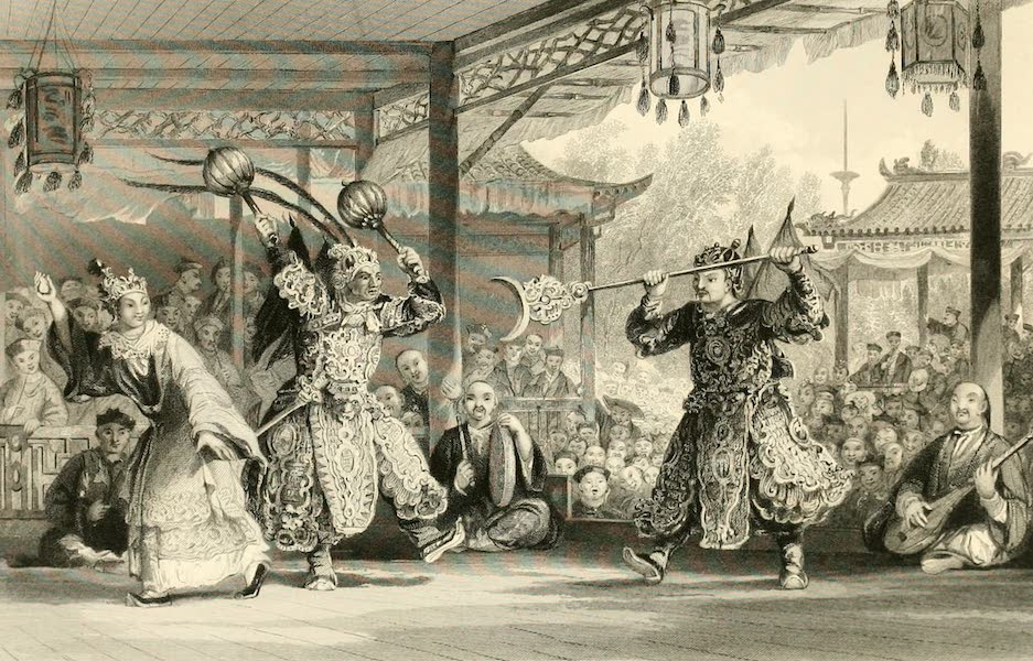 China in a Series of Views Vol. 2 - Scene from the Spectacle of the Sun and Moon (1843)